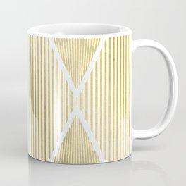 Folded Gold Coffee Mug