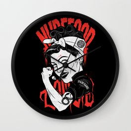 Pain Gang Wall Clock