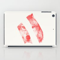 eric fan iPad Cases featuring Red - by Eric Fan and Garima Dhawan  by Eric Fan