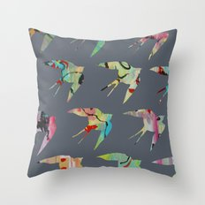 Australian Welcome Swallow II Throw Pillow