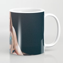 Blue Lingerie Coffee Mug
