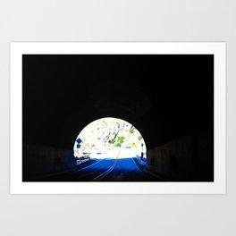 Light at the End Art Print