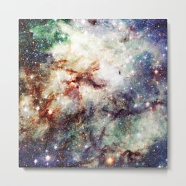 Intersellar cloud Metal Print