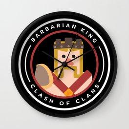 Barbarian King Wall Clock