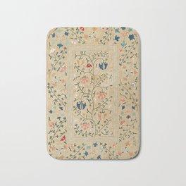 Uzbekistan Suzani Nim Embroidery Print Bath Mat