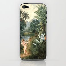 Cupid Inspiring Plants With Love : New Illustration Of The Sexual System iPhone & iPod Skin