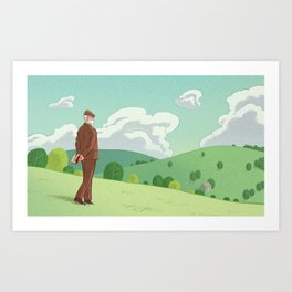 When Higher Education Valued Discovery Art Print