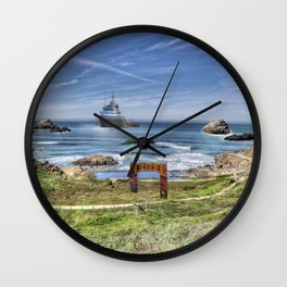 Sutro Baths, Ocean View Wall Clock