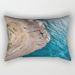 Clear Coastal Waters of the South Coast Rectangular Pillow