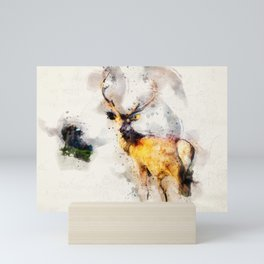 Deer Mini Art Print