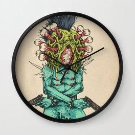 Eye-Pop Assassin Wall Clock