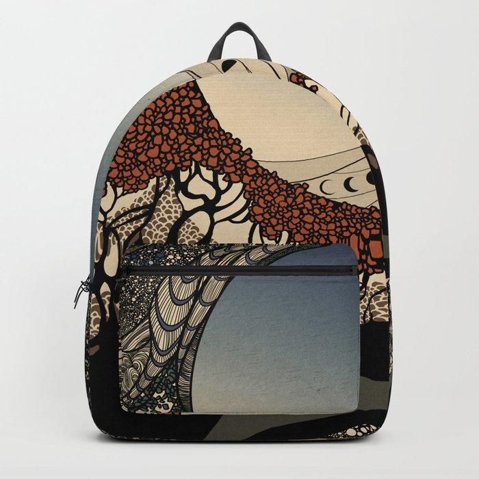 BIG, BLUE, BEAUTIFUL Backpack