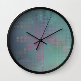 Palm Stories Wall Clock