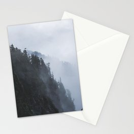 Fogged in Forest Stationery Cards