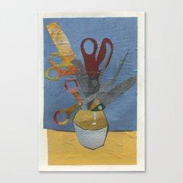 Scissorflowers Canvas Print