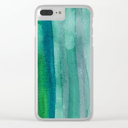 Abstract No. 378 Clear iPhone Case