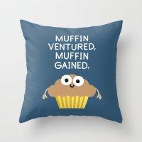 Crummy Advice Throw Pillow