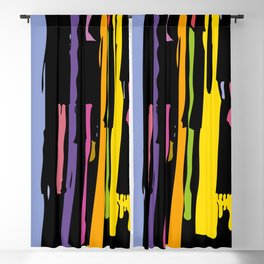 painting Blackout Curtain