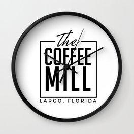The Coffee Mill Wall Clock