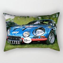 """The Alpine A110 """"Berlinette"""" Rectangular Pillow"""