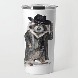 Raccoon Bandit Travel Mug