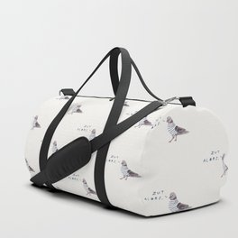 Zut Alors // French Birds Duffle Bag