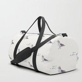 Zut Alors // French Birds Duffle Bag