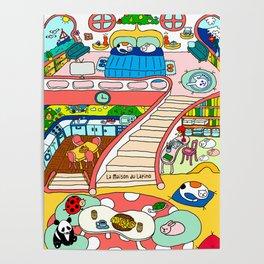 La Maison du Lapino Poster