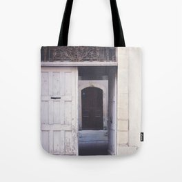 Cottage Doors in Bayeux Tote Bag