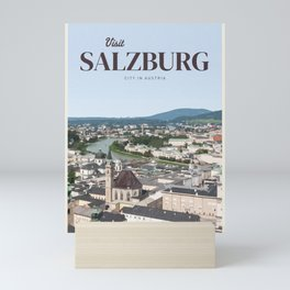 Visit Salzburg Mini Art Print