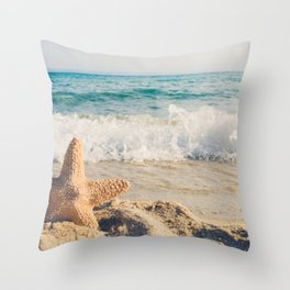 Summer Is My Lover I Wait Every Year Throw Pillow