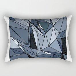 polygonal abstract Rectangular Pillow