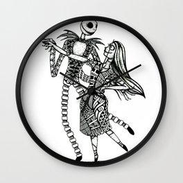Jack and Sally Wall Clock