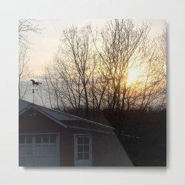 weathervane Metal Print