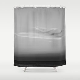 Jersey shore line Shower Curtain