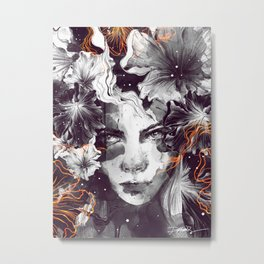 The Wallflower Metal Print