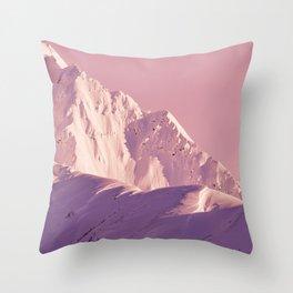 Pink Sherbert Throw Pillow