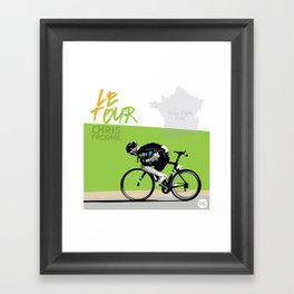 Le Tour + Froome Framed Art Print