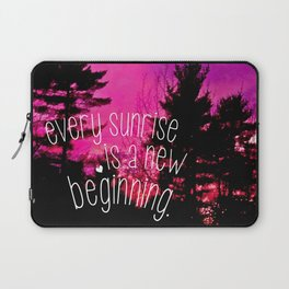 Sunrises are New Beginnings Laptop Sleeve