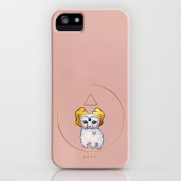 Baby Zodiac Collection - Aries iPhone Case