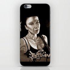 BERLIN - Kitty Kill - dark version iPhone & iPod Skin