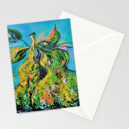 Abstract Pears Stationery Cards