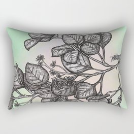 """Get Floral """"Earthly Measure Rectangular Pillow"""