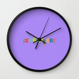 Be an Engineer with Tools T-Shirt D8c69 Wall Clock