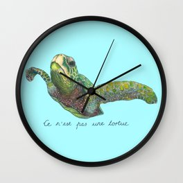 Not a Turtle? Wall Clock