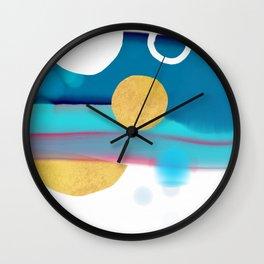 Sunset, sunrise Wall Clock