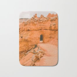 Nature's path in Bryce Canyon National Park Bath Mat