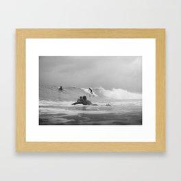 Australia Surf Framed Art Print