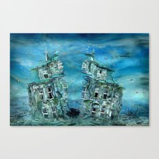 The sunken time Canvas Print