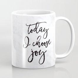 Choose Joy - Marble Coffee Mug